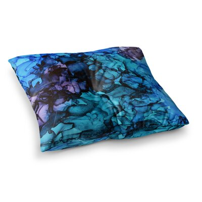 Lucid Dream by Claire Day Floor Pillow Size: 26 x 26