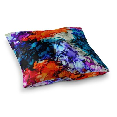 Evanescence by Claire Day Floor Pillow Size: 26 x 26