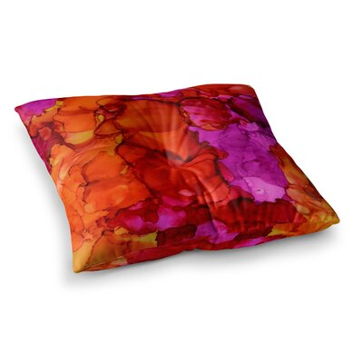 Fierce by Claire Day Floor Pillow Size: 26 x 26