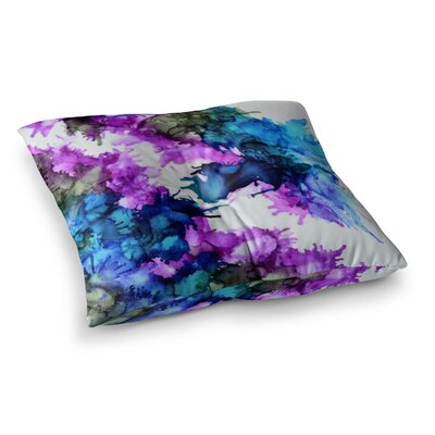 Utopia by Claire Day Floor Pillow Size: 23 x 23