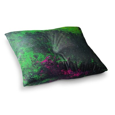 Acid Rain by Claire Day Floor Pillow Size: 23 x 23