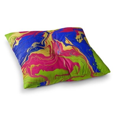 Escaping Reality by Claire Day Floor Pillow Size: 23 x 23