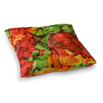One Love by Claire Day Floor Pillow Size: 23 x 23