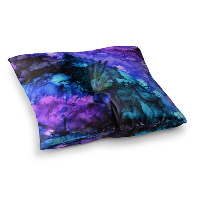 Soul Searching by Claire Day Floor Pillow Size: 23 x 23