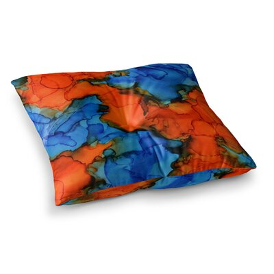 Mile High by Claire Day Floor Pillow Size: 23 x 23
