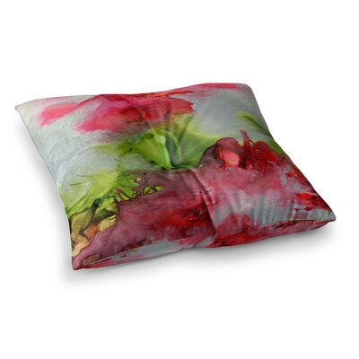 Peace on Earth Painting by Claire Day Floor Pillow Size: 23 x 23