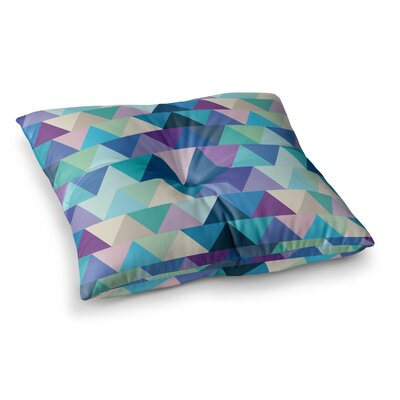 Crystal Geometric by Draper Floor Pillow Size: 26 x 26
