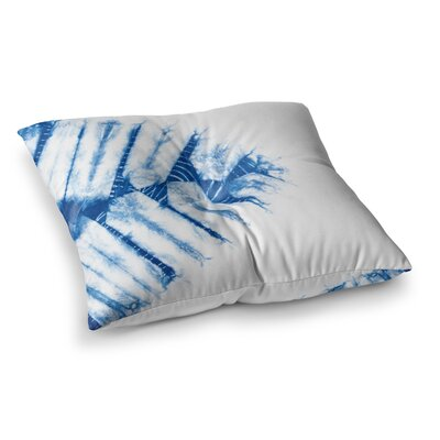 Shibori Watercolor by Draper Floor Pillow Size: 23 x 23