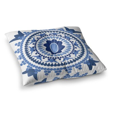 Bohemian by Carolyn Greifeld Floor Pillow Size: 23 x 23