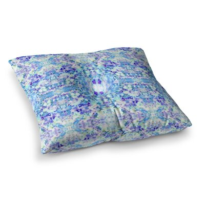 Floral Fantasy Reflection by Carolyn Greifeld Floor Pillow Size: 23 x 23