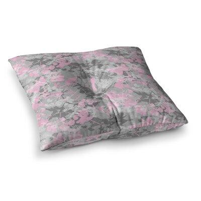 Blissed Digital by Carolyn Greifeld Floor Pillow Size: 23 x 23