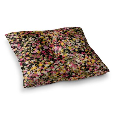 Splotchity by Carolyn Greifeld Floor Pillow Size: 26 x 26