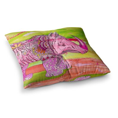 Pretty by Catherine Holcombe Floor Pillow Size: 23 x 23