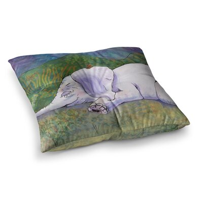 Ernies Dream by Catherine Holcombe Floor Pillow Size: 26 x 26