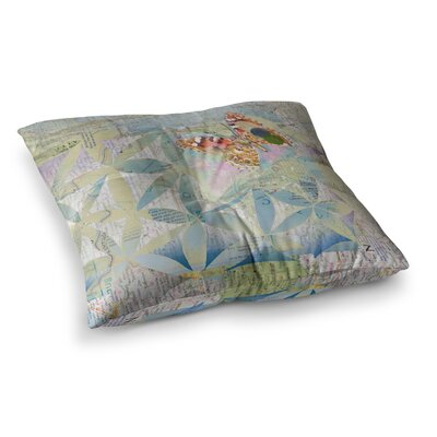 Miraculous Recovery Butterfly by Catherine Holcombe Floor Pillow Size: 23 x 23