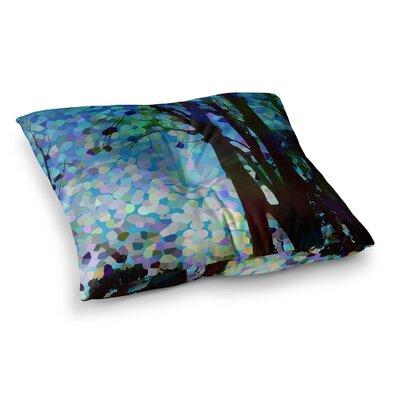 Raspberry Jellybean Geometric by Catherine Holcombe Floor Pillow Size: 26 x 26
