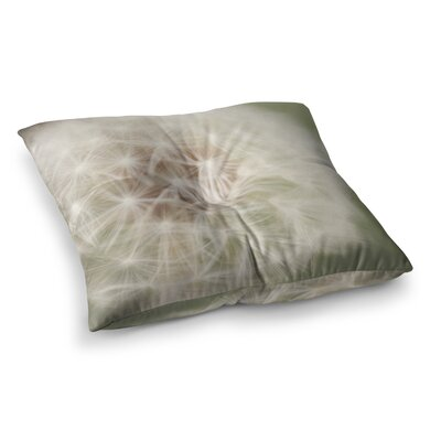 Dandelion by Catherine McDonald Floor Pillow Size: 23 x 23