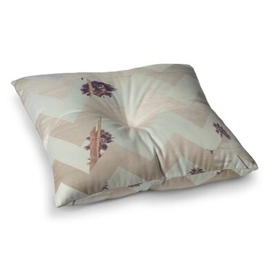 Oasis by Catherine McDonald Floor Pillow Size: 23 x 23