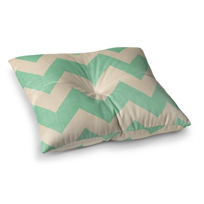 Malibu by Catherine McDonald Floor Pillow Size: 26 x 26