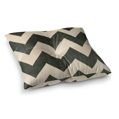 Vintage Vinyl by Catherine McDonald Floor Pillow Size: 26 x 26