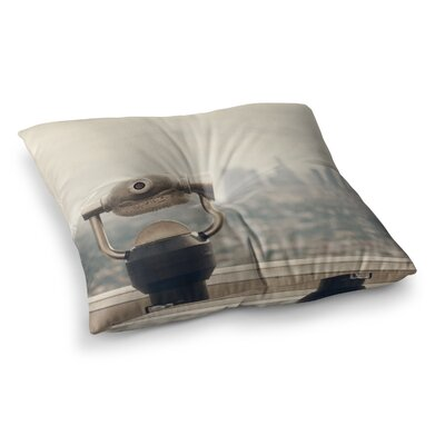 The View LA by Catherine McDonald Floor Pillow Size: 26 x 26
