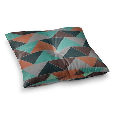 Southwest by Catherine McDonald Floor Pillow Size: 23 x 23