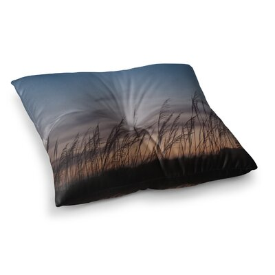 Sunset on the Beach by Catherine McDonald Floor Pillow Size: 23 x 23