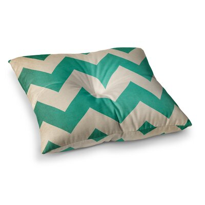 2013 Chevron by Catherine McDonald Floor Pillow Size: 23 x 23