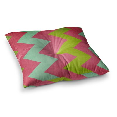 Cocktails with Lilly by Catherine McDonald Floor Pillow Size: 23 x 23