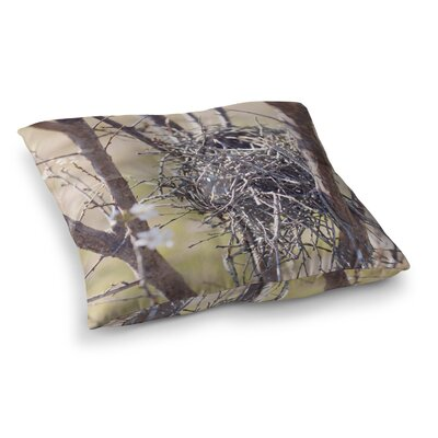 Nest by Catherine McDonald Floor Pillow Size: 23 x 23