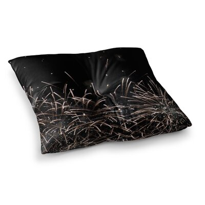 Fireworks by Catherine McDonald Floor Pillow Size: 26 x 26