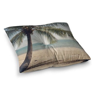 Tropic of Capricorn Ocean Photography by Catherine McDonald Floor Pillow Size: 23 x 23