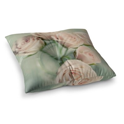 Romance Blush by Cristina Mitchell Floor Pillow Size: 23 x 23
