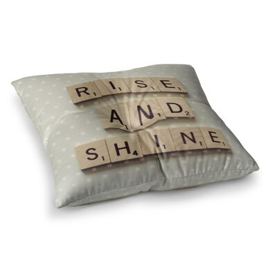 Rise and Shine by Cristina Mitchell Floor Pillow Size: 23 x 23