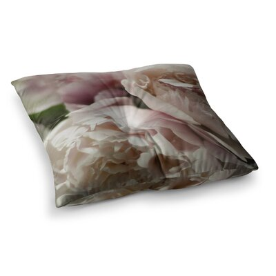 Peonies by Cristina Mitchell Floor Pillow Size: 23 x 23