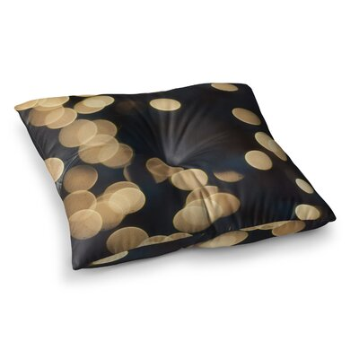 Blurred Lights by Cristina Mitchell Floor Pillow Size: 23 x 23