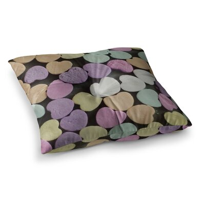 Candy Love Photography by Cristina Mitchell Floor Pillow Size: 26 x 26