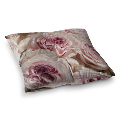 Roses Floral by Crissy Mitchell Floor Pillow Size: 26 x 26