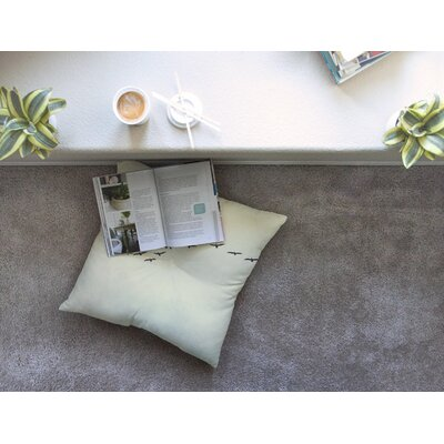 In Flight Nature Photography by Cristina Mitchell Floor Pillow Size: 26 x 26