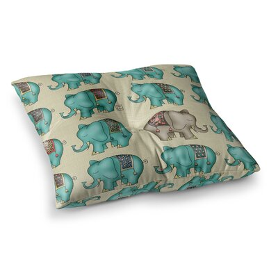 Dreamy Ellie Art Object by Carina Povarchik Floor Pillow Size: 26 x 26