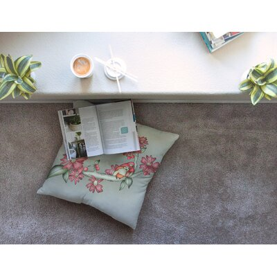 Feng Shui by Carina Povarchik Floor Pillow Size: 23 x 23