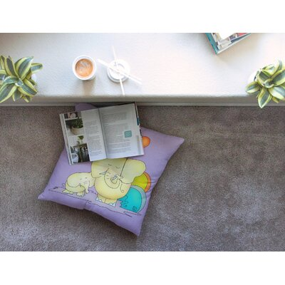 Party Time by Carina Povarchik Floor Pillow Size: 26 x 26