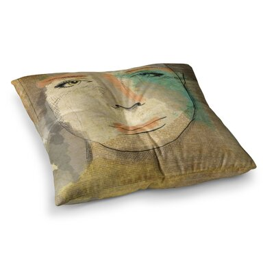 Agata People by Carina Povarchik Floor Pillow Size: 23 x 23