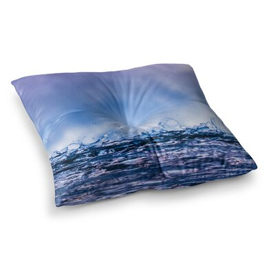 Falling Sky Photography by Colin Pierce Floor Pillow Size: 23 x 23