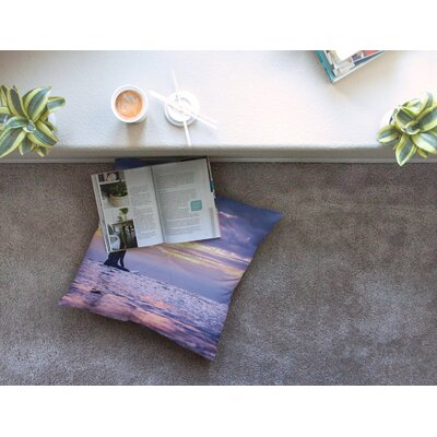 Soul Search Photography by Colin Pierce Floor Pillow Size: 23 x 23