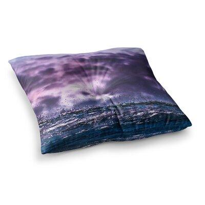 Grape Drops Photoraphy by Colin Pierce Floor Pillow Size: 23 x 23