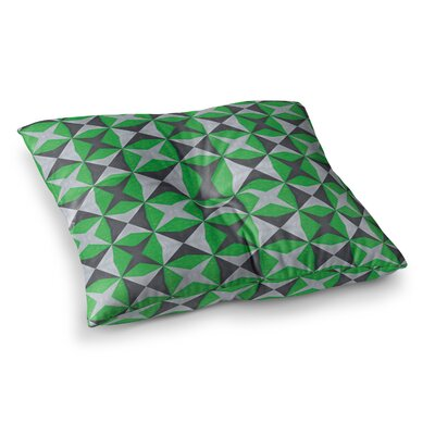 Abstract by Empire Ruhl Floor Pillow Size: 23 x 23