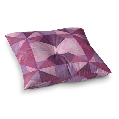 Angles by Empire Ruhl Floor Pillow Size: 26 x 26