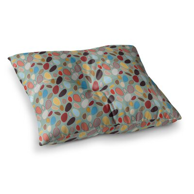 Fall Pebbles Digital by Empire Ruhl Floor Pillow Size: 23 x 23