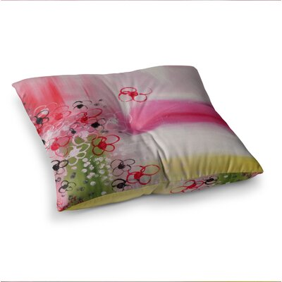 Spring Dreams by Cathy Rodgers Floor Pillow Size: 26 x 26
